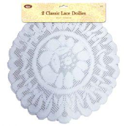 144 Bulk Lace Doilies Two Pieces