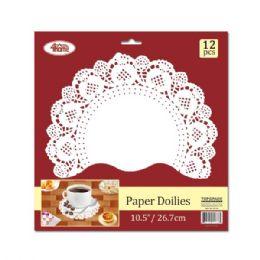 144 Bulk Paper Doilie Twelve Count