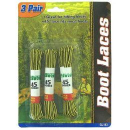 72 Bulk 3 Pair Boot Laces
