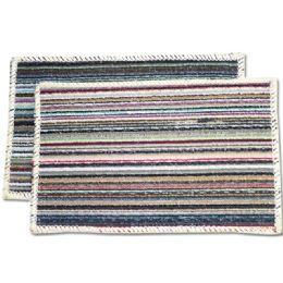 72 Bulk Floor Mat Striped