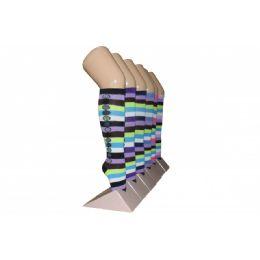 240 Bulk Girls Striped Knee High Socks
