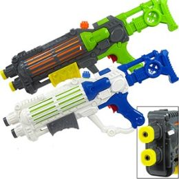 18 Bulk Dual Nozzle Water Assault Weapons.