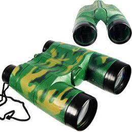 72 Bulk Toy Camoflage Binoculars.