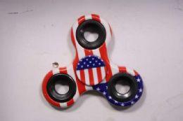 120 Bulk Fidget Spinner American Flag Design