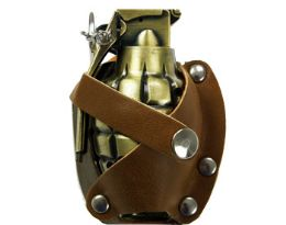 12 Bulk Grenade Lighter Belt Buckle