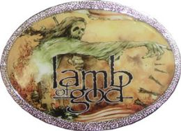 36 Bulk Lamb Of God Belt Buckle