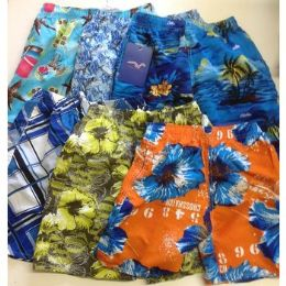 72 Bulk Boys SwimweaR- Assorted Sizes