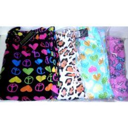 36 Bulk Women's Printed Fleece Sleep Pants
