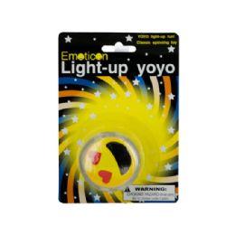 60 Bulk Emoticon LighT-Up YO-yo