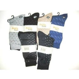 60 Bulk Men's Dress Socks - 2 Pac
