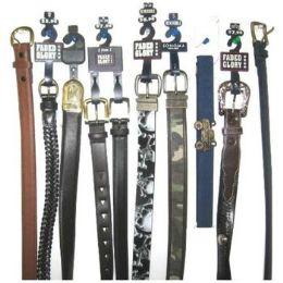 72 Bulk Children's Branded Belts