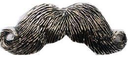 24 Bulk Mustache Belt Buckle