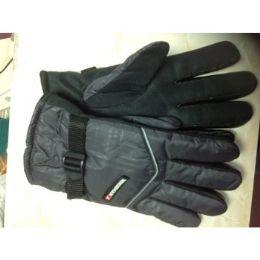 72 Bulk Ski Glove With Dotted Palm