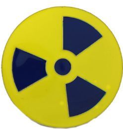 24 Bulk Radiation Warning Belt Buckle