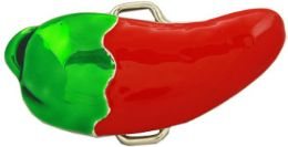 24 Bulk Chili Pepper Belt Buckle