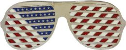 24 Bulk American Glasses Belt Buckle