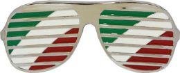 24 Bulk Italian Glasses Belt Buckle