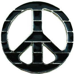 36 Bulk Peace Belt Buckle
