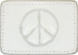 24 Bulk Peace Belt Buckle