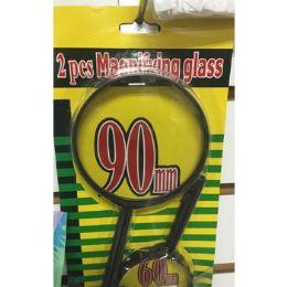 24 Bulk 2 Piece Magnifying Glass Set