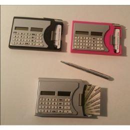 48 Bulk Calculator With Business Card Dispenser & Pen