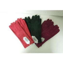 36 Bulk Women's Genuine Leather Gloves