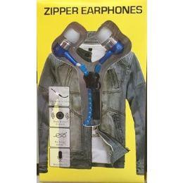 48 Bulk Novelty Zipper Headphones