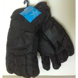 72 Bulk Men's Ski Gloves