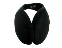 48 Bulk Earmuff With A Band That Goes Behind The Head With A Small Plaid Print