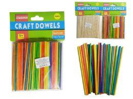 144 Bulk 100 Piece Craft Dowels