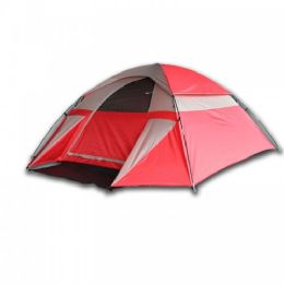 2 Bulk 3 Person Dome Shaped Camping Tent