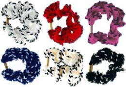 72 Bulk Assorted Color Scrunchies