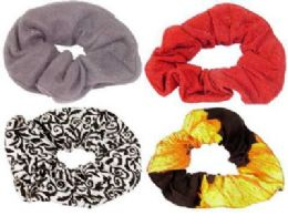 72 Bulk Scrunchie Assortment