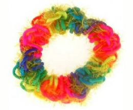 72 Bulk MultI-Color Scrunchie
