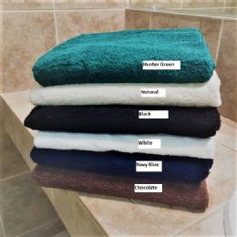 6 Bulk Millennium Bath Towels 27 X 52 White