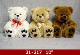 "24 Bulk 10"" Big Feet Soft Bear"