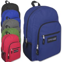 9555afee4a6d Wholesale Trailmaker Deluxe 19 Inch Backpack With Padding - 6 Colors ...
