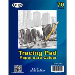36 Bulk Tracing Pad, 8.5x11, 70 Sheets