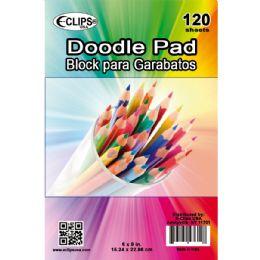 "36 Bulk 6"" X 9"" Doodle Pad - 120 Sheets"
