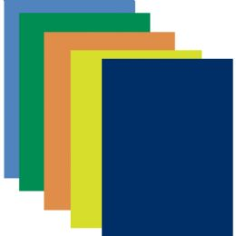 100 Bulk Poster Board - Assorted Colors