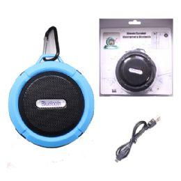 12 Bulk Waterproof Bluetooth Shower Speaker In Blue