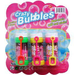 24 Bulk Three Piece Crazy Bubbles