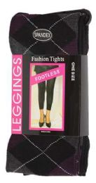 36 Bulk One Size Women's Heavy Footless Tights
