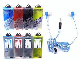 192 Bulk Silicone Stereo Earphone