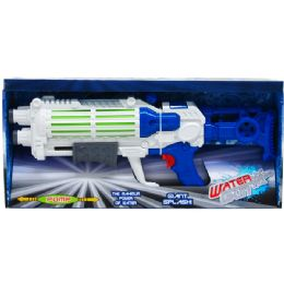 12 Bulk Water Gun With Pump Action In Open Box