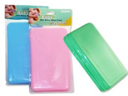 96 Bulk Baby Wipe Holder In Assorted Colors