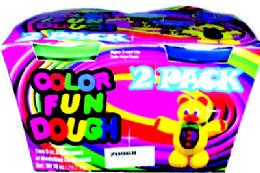 24 Bulk 2 Pack Color Fun Dough