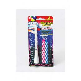72 Bulk Set Of Musical Party Candles