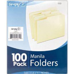 6 Bulk Manilla File Folder
