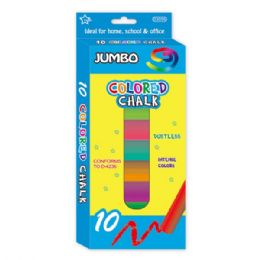 96 Bulk 8 Count Jumbo Colored Chalks